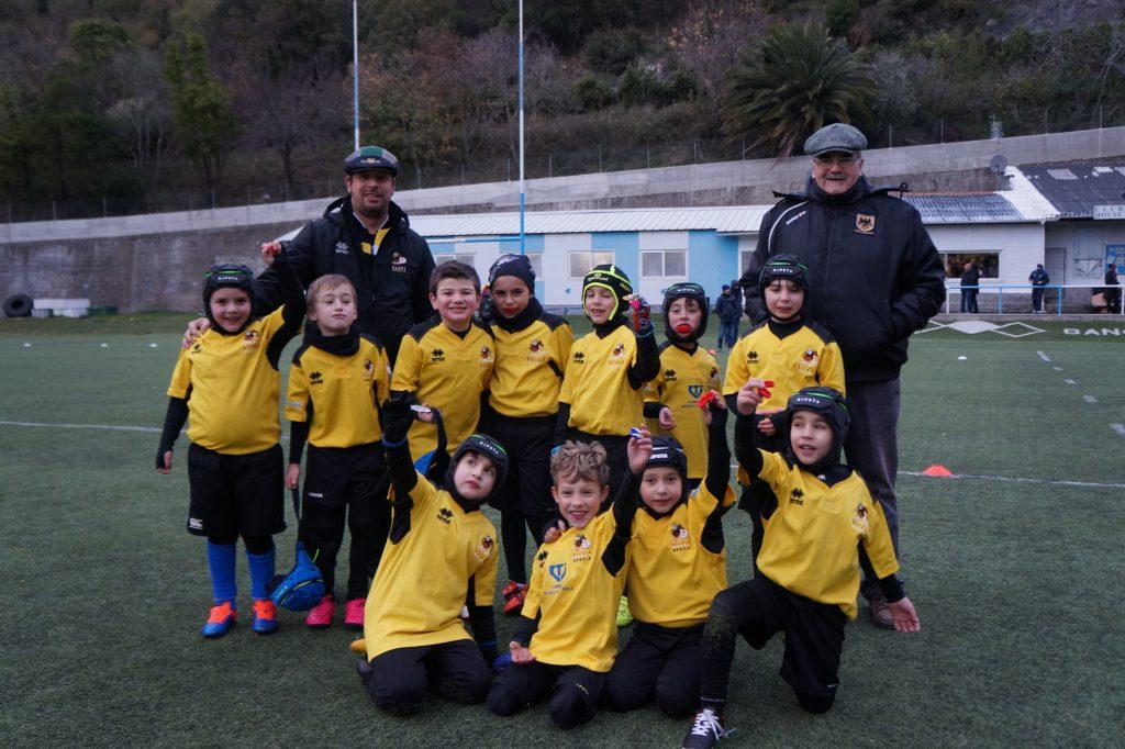 Under 8 Rugby Spezia allenati da Enrico Marchioli