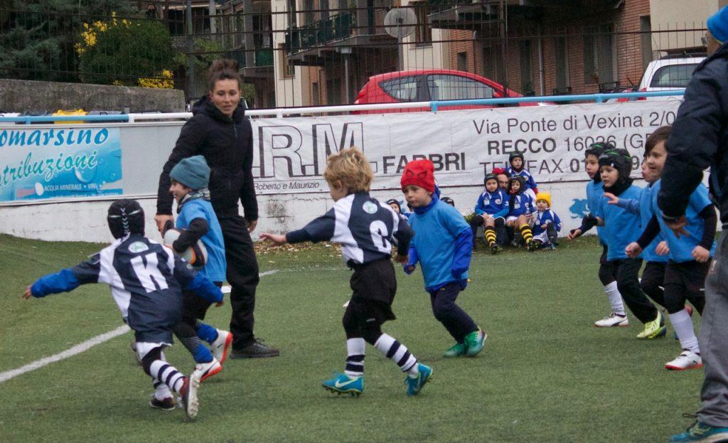 I piccoli Under 6 allenati da Lucia Vergassola